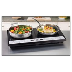 Waring Pro - Portable Induction Cooktop - Black - Alternate View