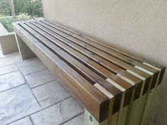 My new and amazing outdoor bench | Do It Yourself Home Projects from Ana White