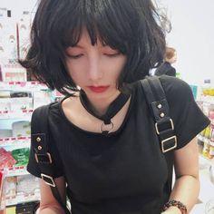微博 Estilo Tomboy, Hair Reference, Asian Hair, Just Girl Things, Poses, Cute Korean, Young And Beautiful, Hair Today, Ulzzang Girl