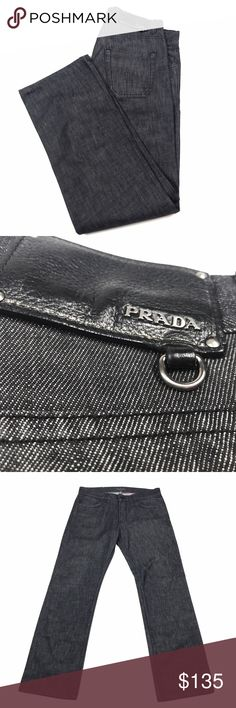 Prada Classic Fit Straight Leg Button Fly Gray Prada Classic Fit Straight Leg Jeans Gray With Button Fly Mens Size 32x32 All items are in EXCELLENT USED CONDITION. I strive to provide quality items and excellent customer service. Feel free to contact me with any questions! New items added daily so follow me to keep up with the great deals! Thank you! Prada Jeans Straight