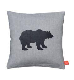 Pictogram Bear pillow, 30x30