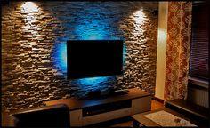 60 Interior Doors Ideas You'll Love - beach house decor Tv Wall Design, House Design, Coin Tv, Best Tv Wall Mount, Small Beach Houses, Tv Unit Decor, Brick Facade, Home Cinemas, Wall Mounted Tv