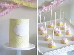 Sweet Baby Shower Guest Dessert Feature | Amy Atlas Events