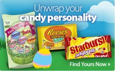 Unwrap your children's candy personalities for the perfect Easter basket!