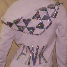 Victoria's Secret PINK Hoodie Hologram~~~~~~sequins S #VictoriasSecret #Hoodie