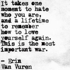"""On the kind of war everyone fights, every day. 