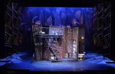 The Wild Party. Coll - The Wild Party. College Conservatory of Music. Set design by Mark Halpin. Set Design Theatre, Prop Design, Stage Design, Scenography Theatre, Stage Background, Theater, Modern Lighting Design, Cultural Architecture, Design Research