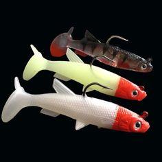 3 Color Sea Fishing Bait Road Asia Bait Lead Fish 9.5Cm / 22G Bait Fish Bait T Tail Sea Bass Single