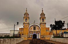 Santuario de Nuestra Señora de Guadalupe,San Pedro Cholula,Estado de Puebla,México