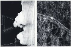 Courtesy Galerie van Gelder | Ansuya Blom | Portrait of Susanne U. 9, 2011 | gouache pen, inkjet print, acrylic paint on polyester | 65 x 98 cm