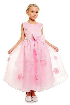 Nuova offerta in #abbigliamento : Cinda Vestido de fiesta de dama de honor Rosa 2-3 Anni a soli 19 EUR. Affrettati! hai tempo solo fino a 2016-09-22 23:30:00