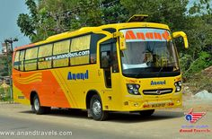 Anand Travels proudly announces the introduction of our Brand New 2+1 AC Sleeper Service from Mumbai to Kolhapur via Pune. This bus comes with Sleeper with Backrest for better Travel comfort and has Individual LED TV's for Entertainment. For Online Ticket Booking visit : http://anandbus.com  #Mumbai #Borivali #Sion #Kolhapur