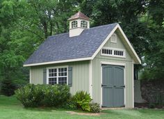 This Manor A-Frame Shed would look great in my back yard!