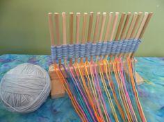 Peg Loom for Weaving