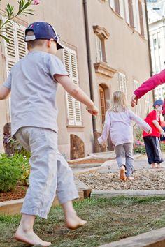 Le sentier pieds nus, Colmar Fête le printemps - www.printemps-colmar.com