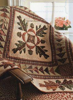 Oak Hill Quilt Pattern Pieced/Applique JR