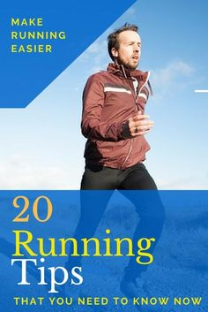 20 Running Tips to Make Running Easier. Bet you wouldn't have thought of #14 #running #runningtips
