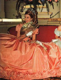 Monte-Carlo Century Ball. Princess Grace of Monaco. 1966.