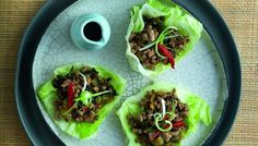 Rainbow Beef in Lettuce Cups by thesplendidtable