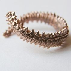 Spine ring, to match my necklace!