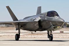 An F-35B from RAF No19(R) Sqn makes a brief appearance at MCAS Yuma.| by Joe_Copalman. [1600x1067]