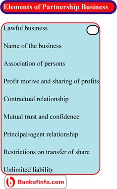 Importance Of Partnership Agreement  Business