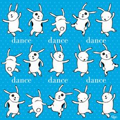 Dance Dance Dance Art Print by Dale Keys