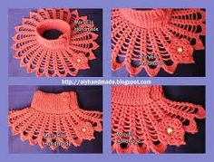 Image result for crochet collar