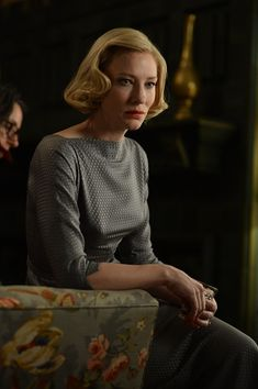 Cate Blanchett on the set of CAROL (2015). Photo by Wilson Webb © 2014 Number 9 Films (Carol) Limited.