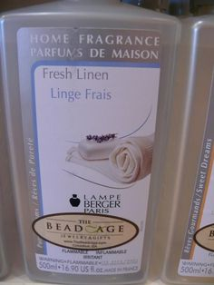 Lovely Fresh Linen from Lampe Berger a clean light smell