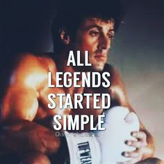 No one makes it big on their first day but don't let that stop you from trying. #rocky #balboa #rockybalboa #sylvester #stallion #sylvesterstallone #sylvester #stallone by Ed Zimbardi http://edzimbardi.com