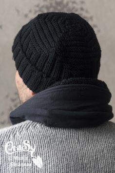 CraSy, Kopf und Kragen - Sylvie Rasch - Modell Rippley Handmade Design, Winter Hats, Craft Ideas, Knitting, Crafts, Fashion, Accessories, Man Scarf, Headboard Cover
