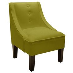 Layna Accent Chair. LOVE the shade of green :)