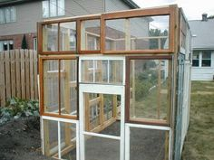 green house made with odds and end windows. seems like a great recycling idea 3-9-09greenhouse4.jpg