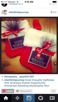Coal in your stocking this Christmas?! Why yes!! https://www.facebook.com/robynmkbeauty
