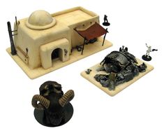 Tatooine village
