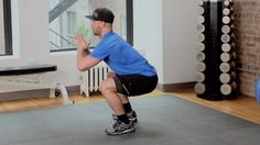 Personal Trainer Rob Sulaver takes you through some workout basics, emphasizing form and foundation as the pillars of a solid exercise routine. In this HIIT This workout, Rob takes you through 2 circuits comprised of 5 different exercises (squats, protraction / retraction, push ups, bird dog, mountain climbers). Remember, move excellently and then move intensely! Squats are great and they have tons of variations. Your going to line up your feet parallel with your hips, bend you...