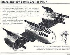 Dan Dare Spaceship Builder - (Girders & Gears, 2015)