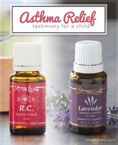 Asthma Relief with Lavender and RC