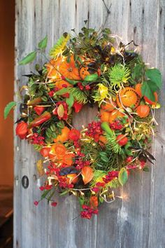 make your own christmas wreath kit