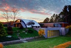 MB Architecture Builds a Beautiful Semi-Subterranean Eco Home in East Hampton | Inhabitat New York City