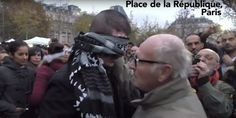Muslim Asks Parisians To Hug Him If They Trust Him. Many Do.