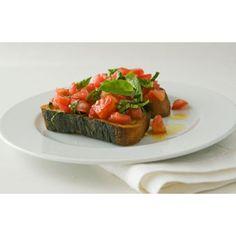 Bruschetta al Pomodoro  //  SavoryPantry.com  //  #Bruschetta