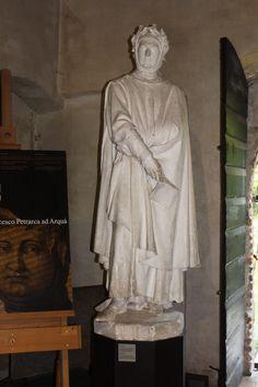 Petrarca, casa di Petrarca, Arqua, Italy. Www.bustsofwritersandpoets.com