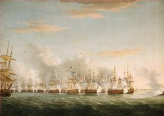The Battle of the Nile, 1 August 1798 - National Maritime Museum