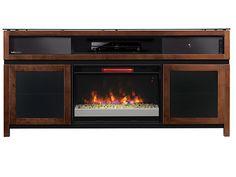 Gramercy Fireplace Console #steinhafels