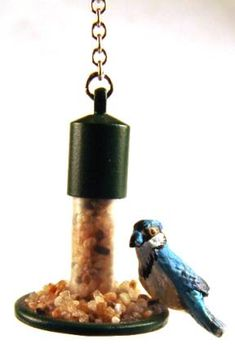 Miniature bird feeders