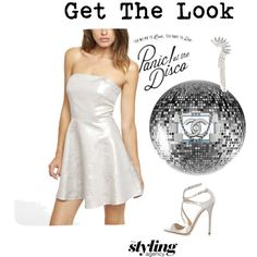 Disco Queen  Not sure what to wear for your weekend party? Think silver, disco and anything metallic.  #metallic #Silver #ootd #fridaynight #houseparty #saturdaynight #Summer #love #girl