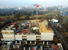 Budowa inwestycji Konopnicka City Park postępuje. Budynek pnie się w góre!