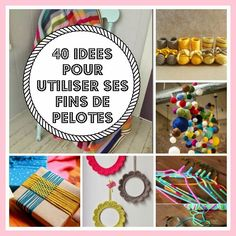 DIY Utiliser la fin des pelotes. (MES FAVORIS TRICOT-CROCHET: 40 idées pour utiliser ses fins de pelotes) (http://inspirations-tricot-crochet.blogspot.fr/2015/05/40-idees-pour-utiliser-ses-fins-de.html)